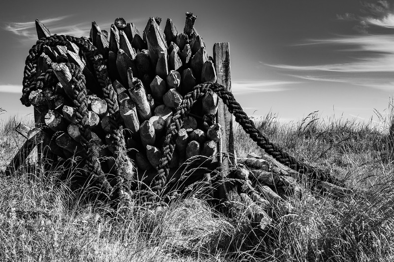 Fence Posts and Rope