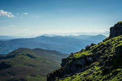 Mountains to the Horizon