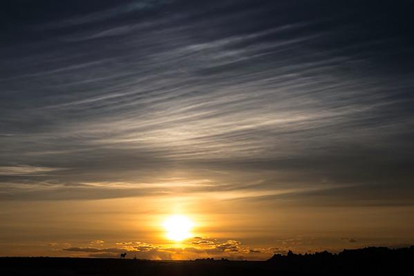 Sky over the Badlands