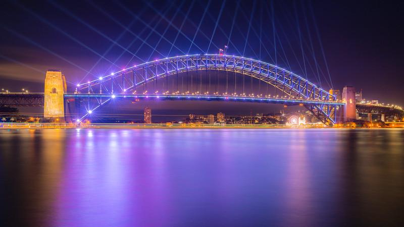 Bridge in Purple
