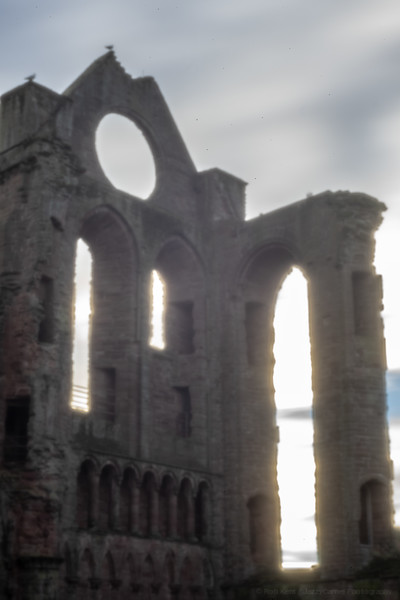 Arbroath Abbey through a Pinhole