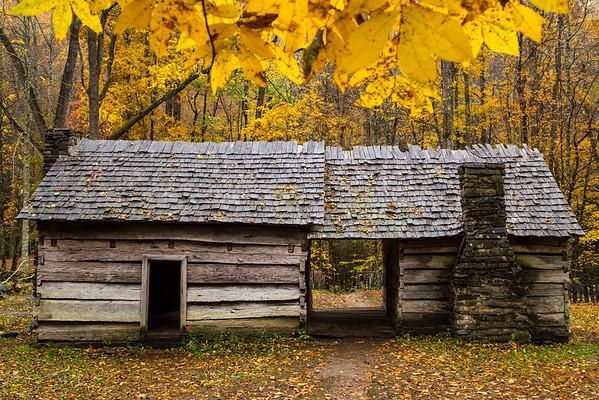 Ephraim Bales Cabin, Great Smoky Mountains National Park