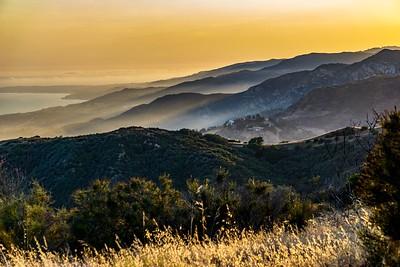 Misty Malibu Hills