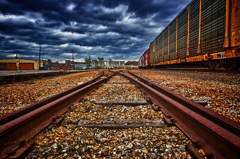 St. Louis train tracks.