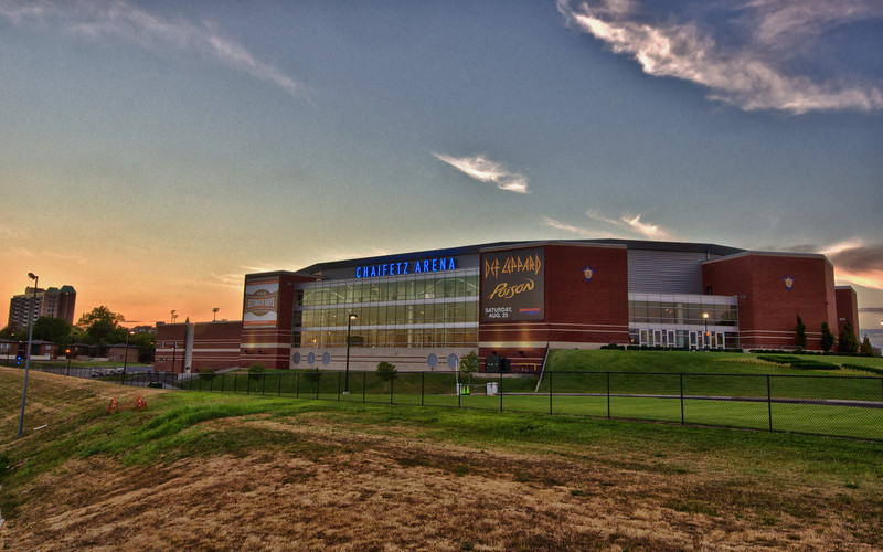 Chaifetz Arena on the St. Louis University Campus.  Home of the Billikens