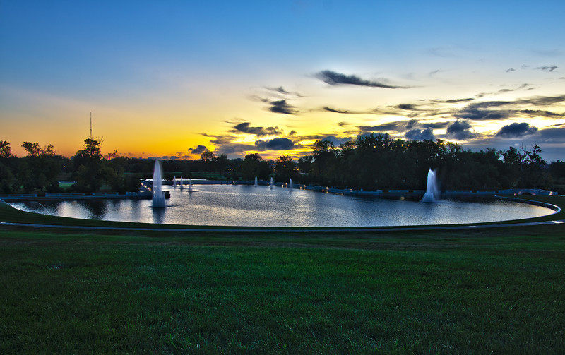 The Grand Basin in Forest Park.