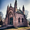 The mausoleum of Adolphus Busch in Bellefontaine Cemetery.