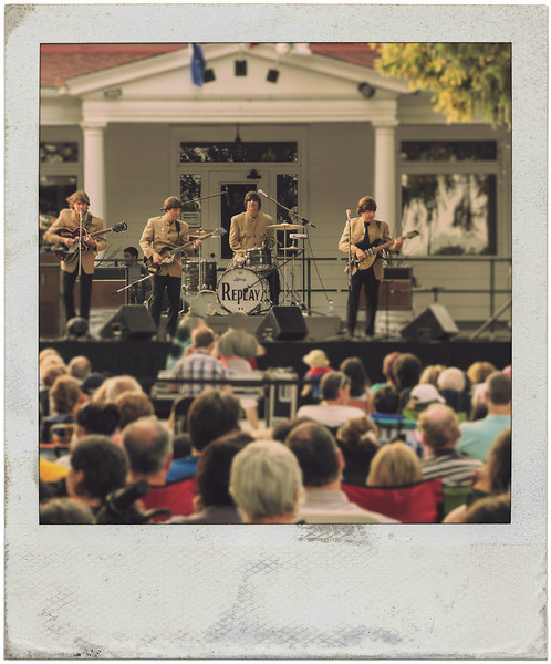 Replay, playing The Beatles on July 9, 2013 in Beaconsfield's Centennial Park.