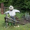 Donna's garden mascot.