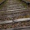 More railway ties.