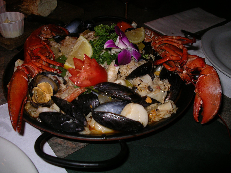 """The best ever Spanish Paëlla!  From RestoBar  Zool in Pointe Fortune.<br /> <br />  <a href=""""http://www.restobarzool.com/"""">http://www.restobarzool.com/</a>"""