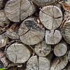 Woodpiles always remind me of Robert Frost.