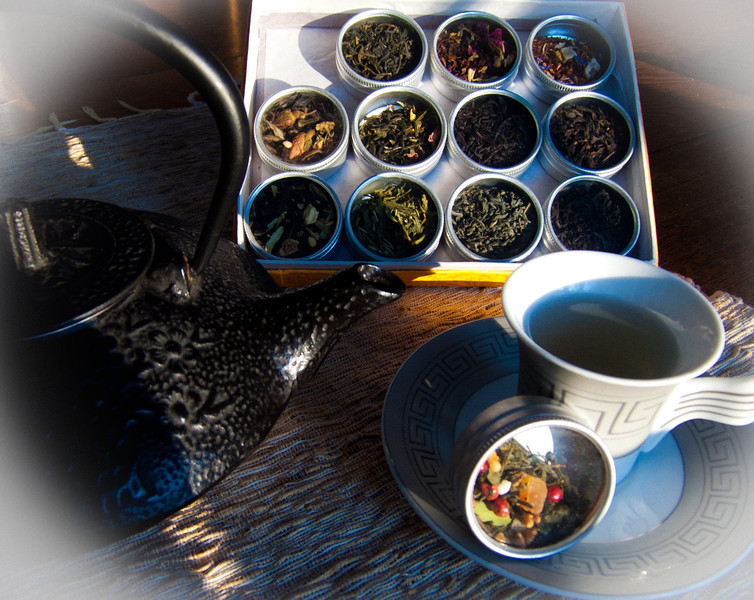 Winter tea-time, featuring Ochadô tea.