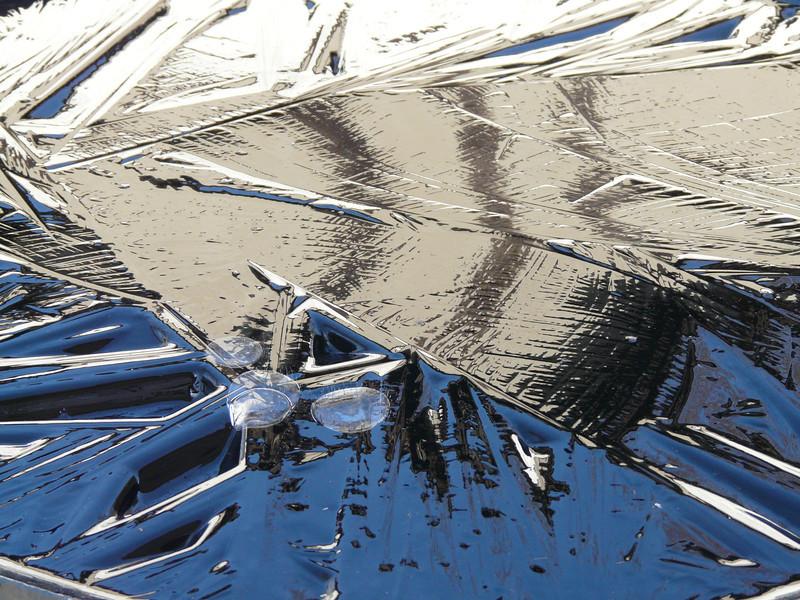 Same thing--designs on ice.