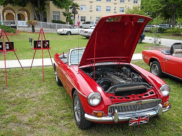 Craig Colby 1968 MGC Roadster