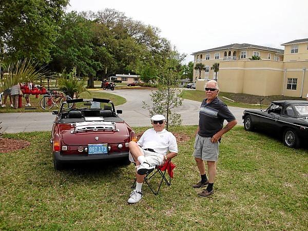 Wayne Deswert and Herb James
