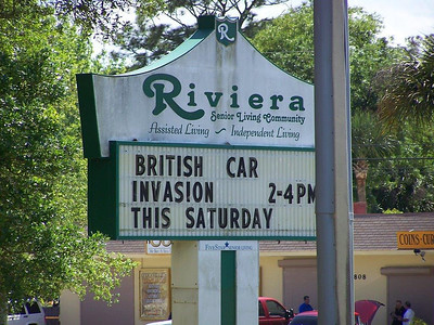 British Invasion at the Riviera