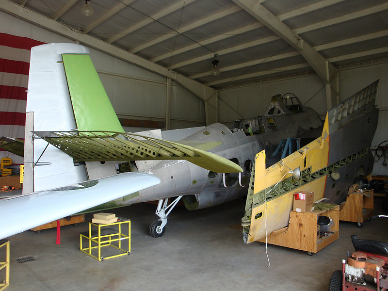 August 7 2010 - Deland Airport<br /> 1943 Avenger project1
