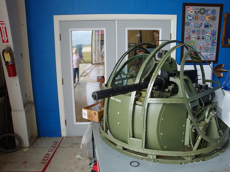 August 7 2010 - Deland Airport<br /> 1943 Avenger project gun turret