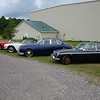 August 7 2010 - Deland Airport<br /> our British cars parked outside hanger 3