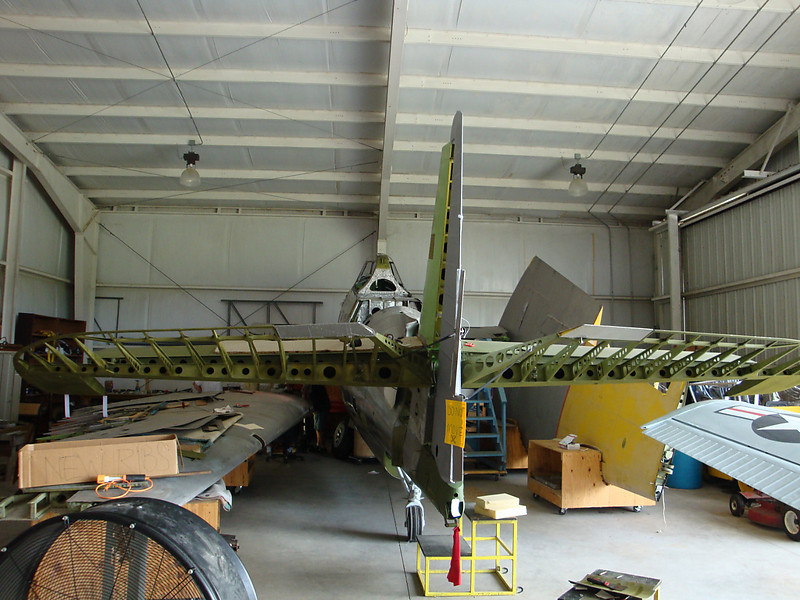 August 7 2010 - Deland Airport<br /> 1943 Avenger project2