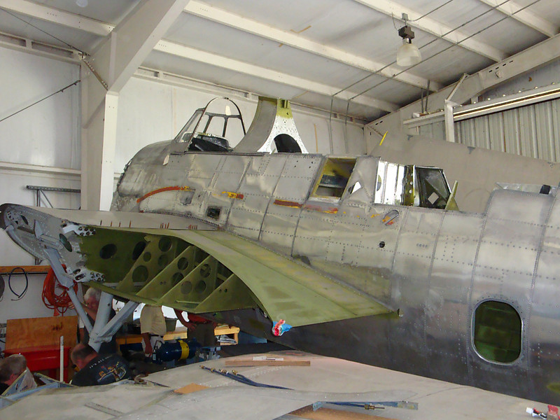 August 7 2010 - Deland Airport<br /> 1943 Avenger project 3