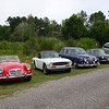 August 7 2010 - Deland Airport<br /> our British cars parked outside hanger 2