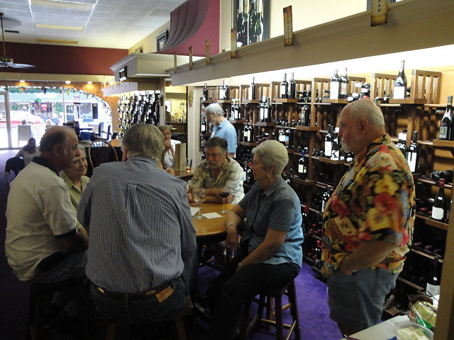 ABCC members  sharing stories, July 23, 2011