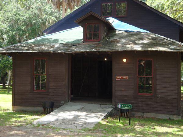 Princess Place, Stable barn
