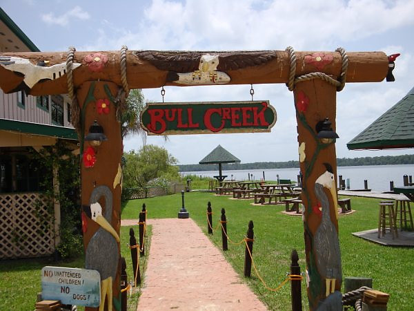Lunch at Bull Creek, entrance