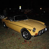 Jim McCarthy 1973 MGB Roadster, Ormond Gaslight Parade, 11-26-10