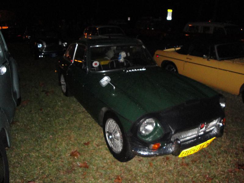 Jim McCarthy 1968 MGC GT 2, Ormond Gaslight Parade, 11-26-10