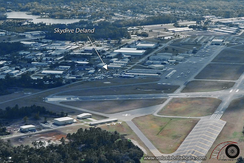 Aerial view of Deland Airport, Feb 21 '09 (Scott Keating)