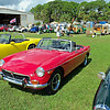 Timeless Wheels & Wings Show, New Smyrna Beach - October 2010 <br /> Duncan MGB 3