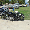 Timeless Wheels & Wings Show, New Smyrna Beach - October 2010 <br /> bikes 7