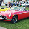 Timeless Wheels & Wings Show, New Smyrna Beach - October 2010 <br /> Duncan MGB 2