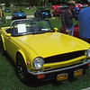 Timeless Wheels & Wings Show, New Smyrna Beach - October 2010 <br /> TR6, yellow 5