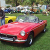 Timeless Wheels & Wings Show, New Smyrna Beach - October 2010 <br /> Duncan MGB