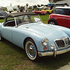 Timeless Wheels & Wings Show, New Smyrna Beach - October 2010 <br /> Bradley MGA