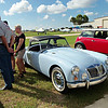 Timeless Wheels & Wings Show, New Smyrna Beach - October 2010 <br /> Bradley MGA 2