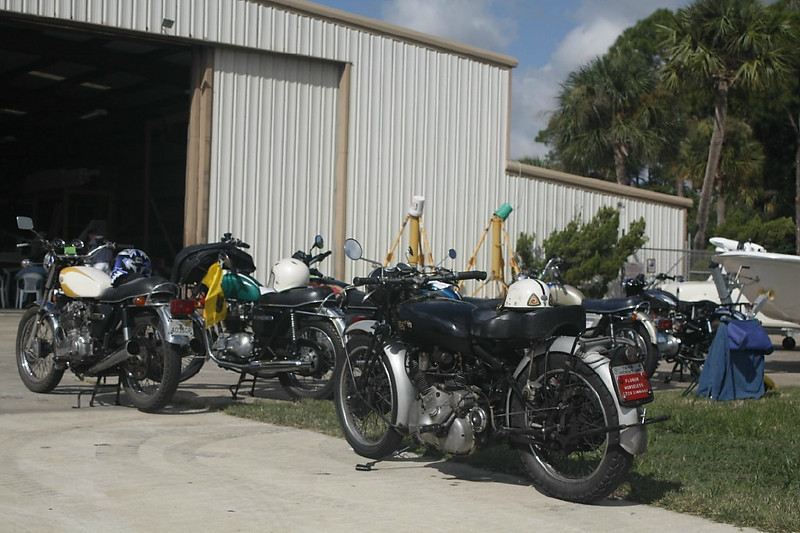 Timeless Wheels & Wings Show, New Smyrna Beach - October 2010 <br /> Bikes 9