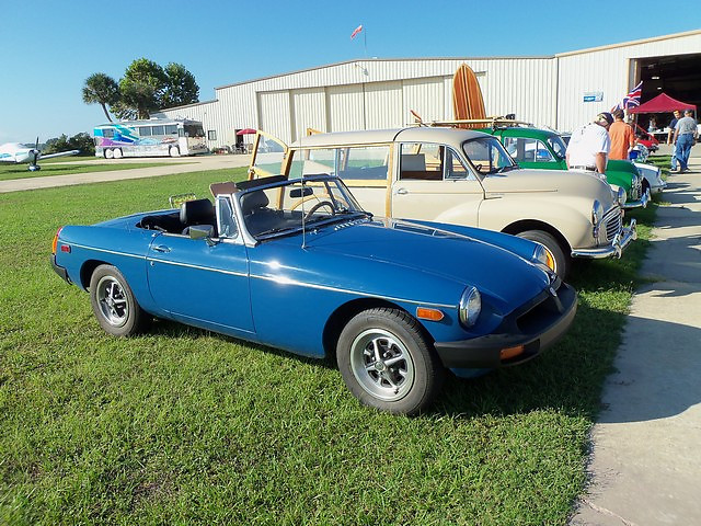 Timeless Wheels & Wings Show, New Smyrna Beach - October 2010 <br /> Hart MGB 2