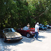 lining up before the picnic 2 <br /> Washington Oaks Picnic <br /> May 22 2010