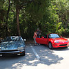 hall jaguar & causey miata <br /> Washington Oaks Picnic <br /> May 22 2010
