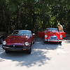 lemire mgb & sleeper mga <br /> Washington Oaks Picnic <br /> May 22 2010