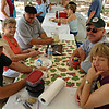 picnic, group shot after eating (2) <br /> Washington Oaks Picnic <br /> May 22 2010