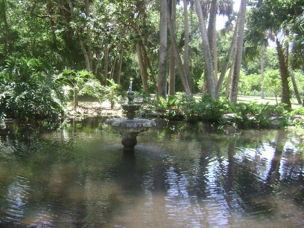 nature trail at fish pond <br /> Washington Oaks Picnic <br /> May 22 2010