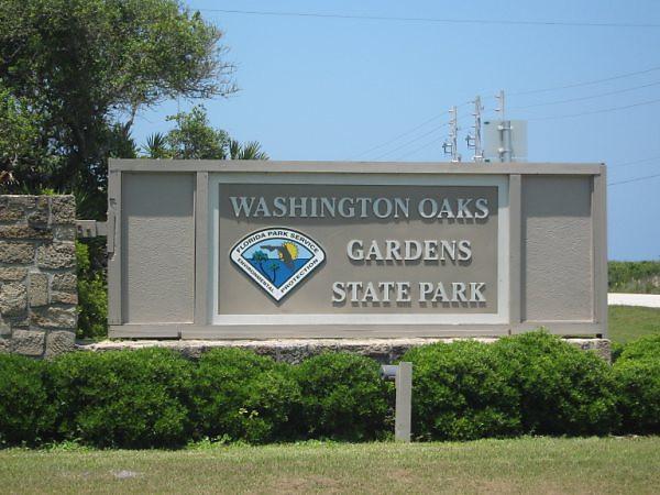 entrance to gardens <br /> Washington Oaks Picnic <br /> May 22 2010