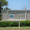 entrance to gardens <br /> Washington Oaks Picnic <br /> May 22 2010