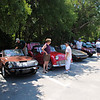 lining up before the picnic <br /> Washington Oaks Picnic <br /> May 22 2010